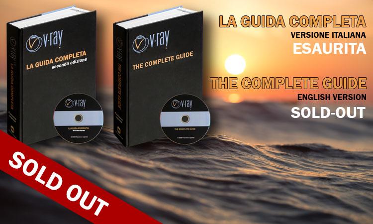 Read more about the article VRay: LA GUIDA COMPLETA – LIBRI ESAURITI