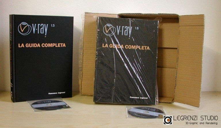 VRay: LA GUIDA COMPLETA - Foto Scatola 3