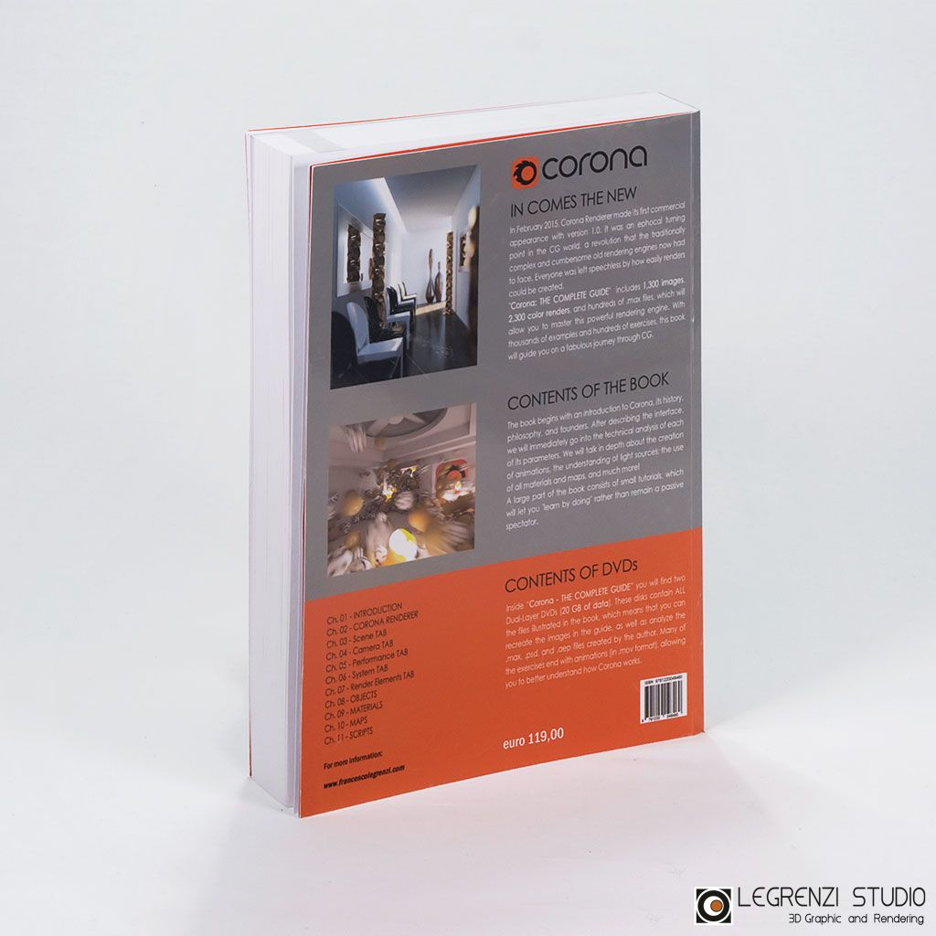 Corona: THE COMPLETE GUIDE - DVD - NO FLAG - Back