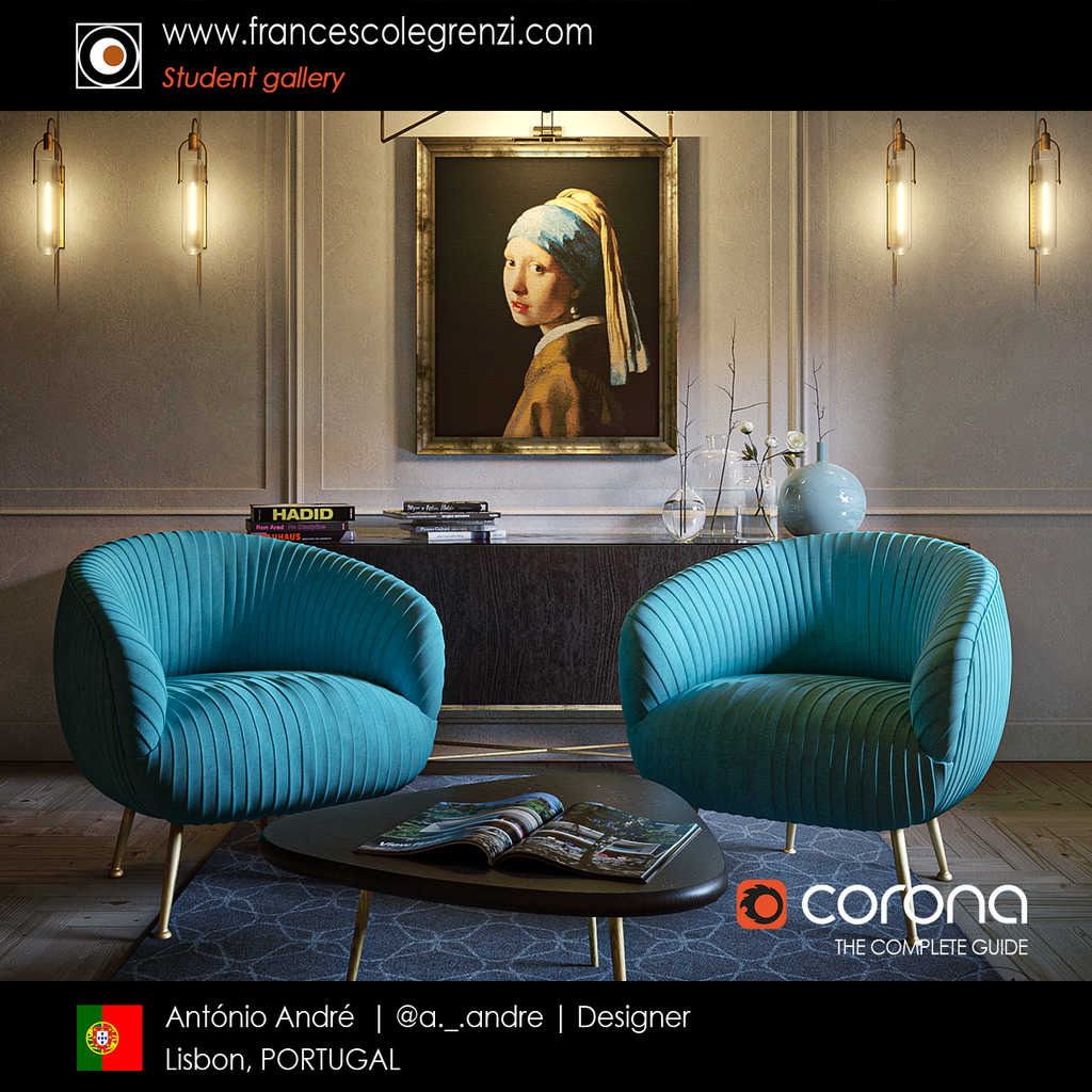 Corona THE COMPLETE GUIDE - Student Antonio - Render 02