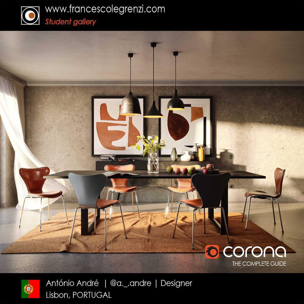 Corona THE COMPLETE GUIDE - Student Antonio - Render 03