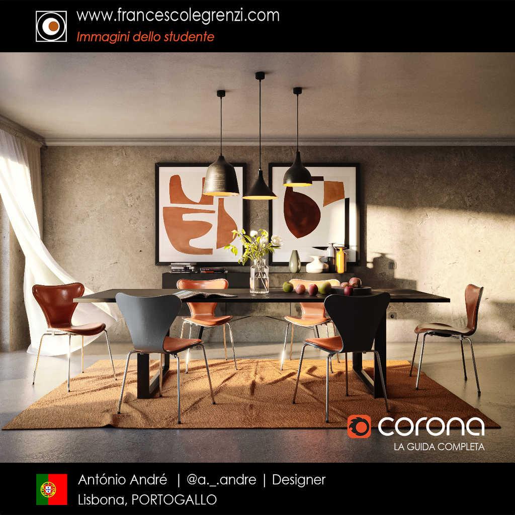 Corona LA GUIDA COMPLETA - Student Antonio - Render 03