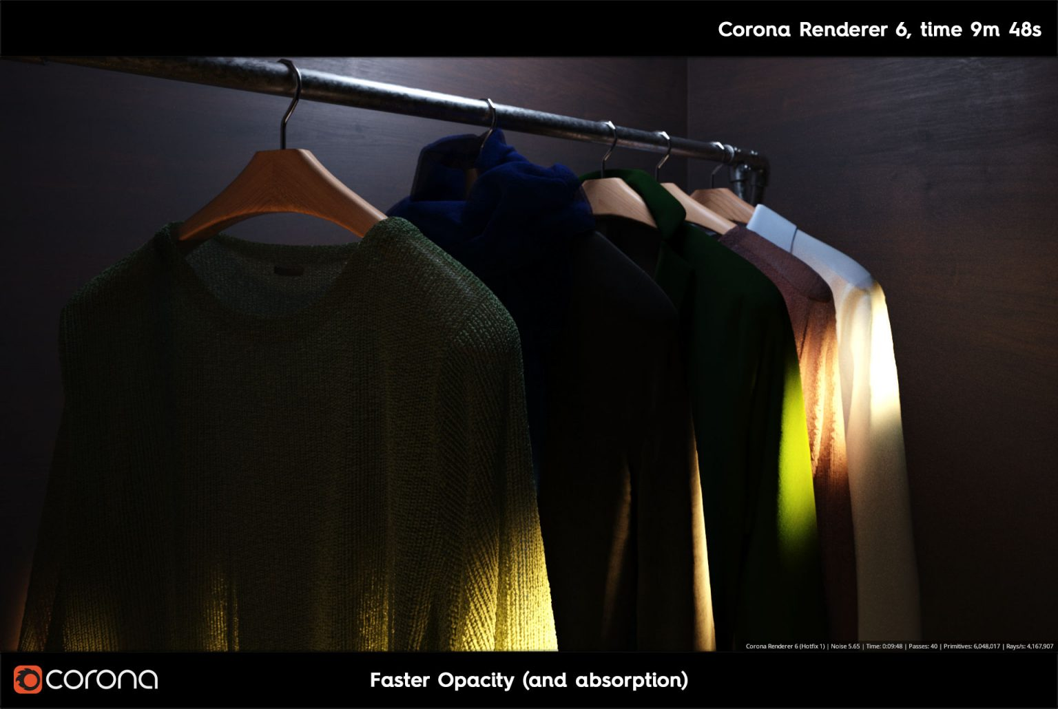 Corona Renderer 7: TUTTE LE NOVITA' - Fast Opacity B