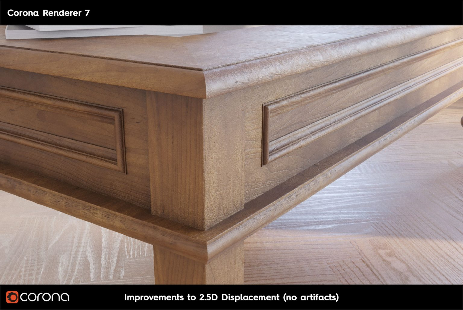 Corona Renderer 7: TUTTE LE NOVITA' - 2.D Displacement A
