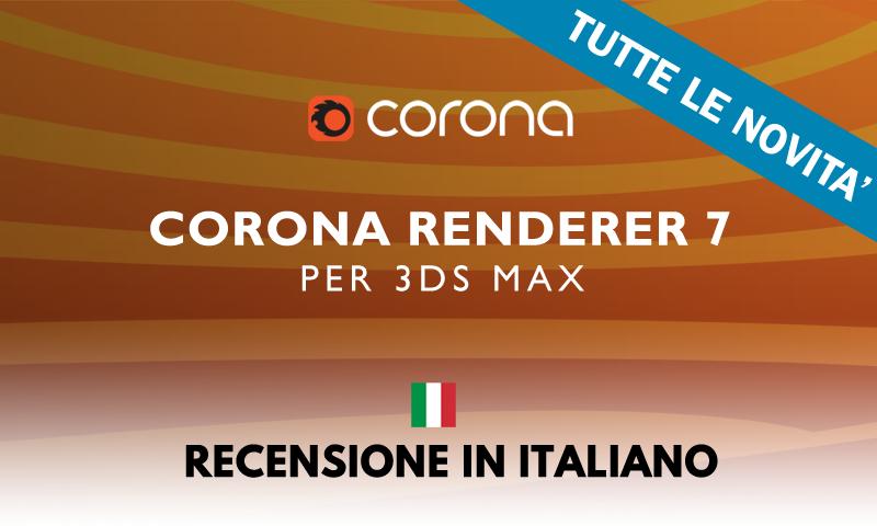 Corona Renderer 7: TUTTE LE NOVITA' - Thumb BLOG