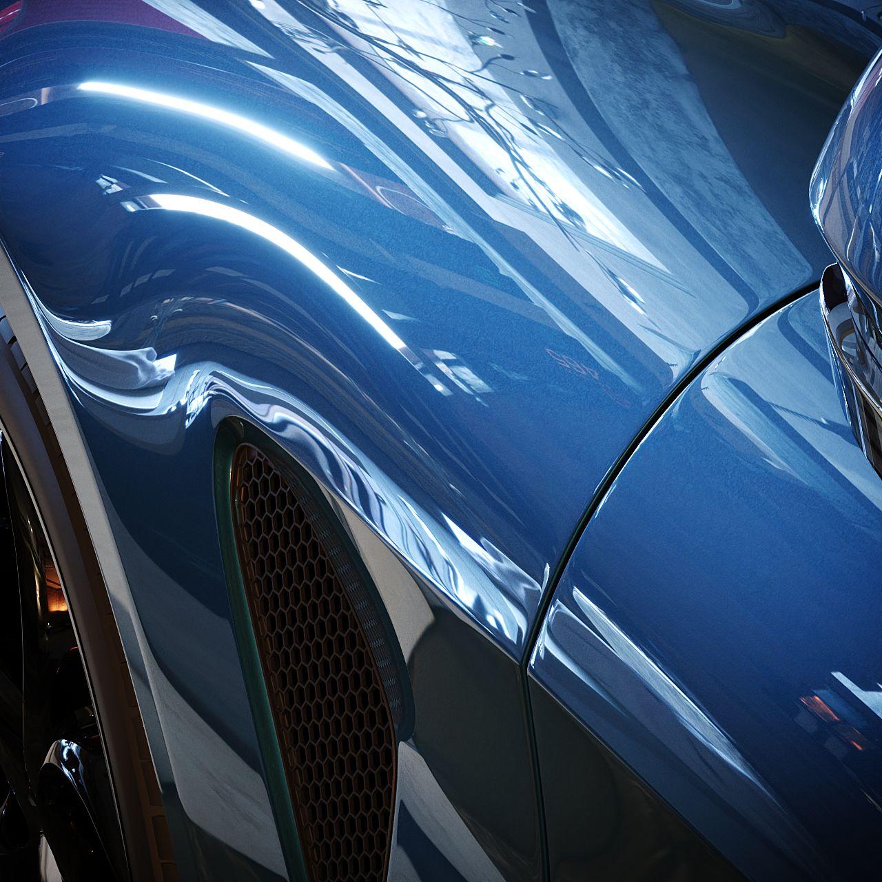CoronaPhysicalMtl cosa è: car paint Clearcoat